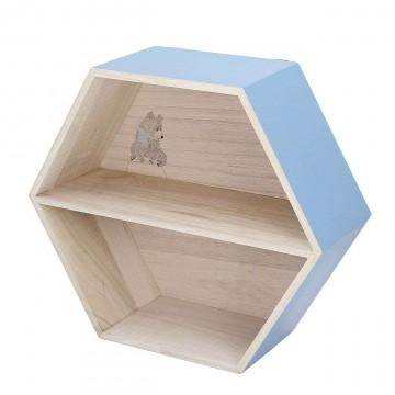 Półka Hexagon blue 38cm