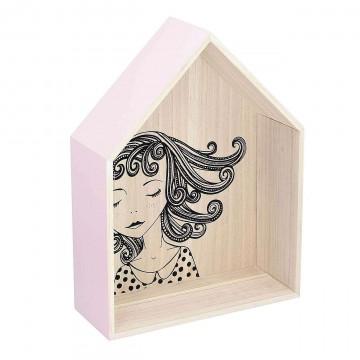Półka Lovely House pink 49cm