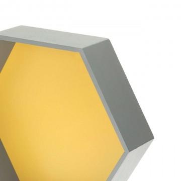 Półka Honeycomb yellow...