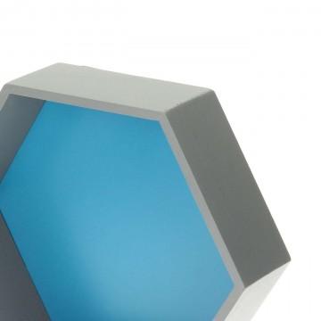 Półka Honeycomb blue...