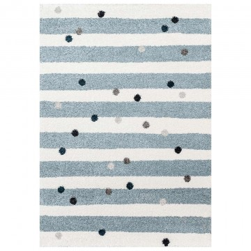 Dywan Stripes and Dots blue...