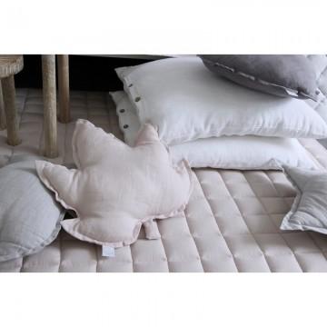 Poduszka ozdobna lniana...