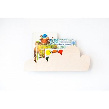 Półka chmurka drewniana