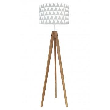 Lampa podłogowa trójnóg w...