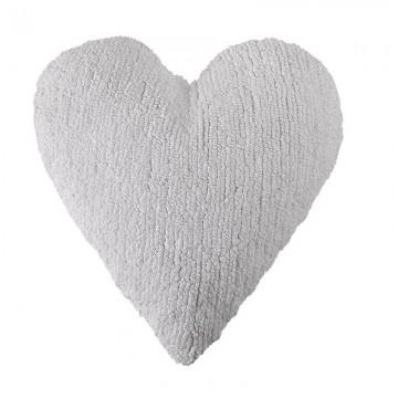 Poduszka serce biała Lorena...