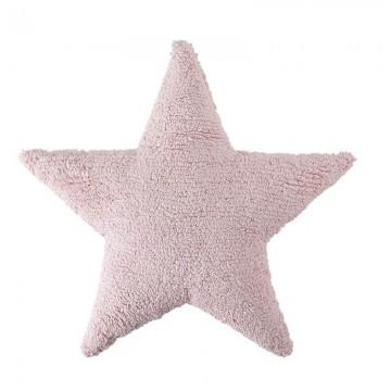 Poduszka gwiazdka różowa...
