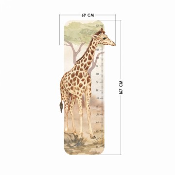 Naklejka Miarka Żyrafa DK435