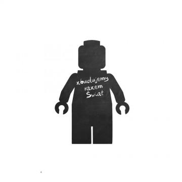 Naklejka Tablicowa Lego Robot