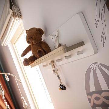 Drewniana półka Minimondo -...