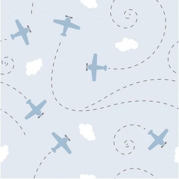 Tapeta Błękitne samoloty