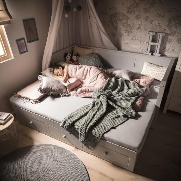 Łóżko rozsuwane DESSI -...