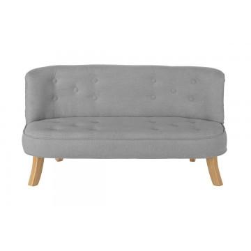 Sofa dla dzieci - szara...