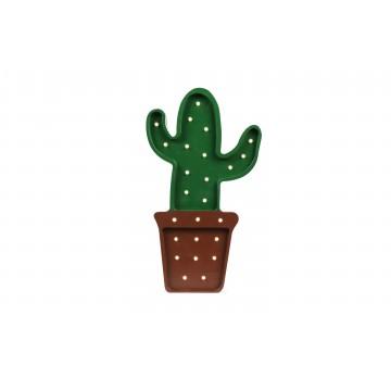 Lampa drewniana Kaktus