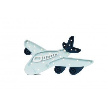 Lampa drewniana Samolot
