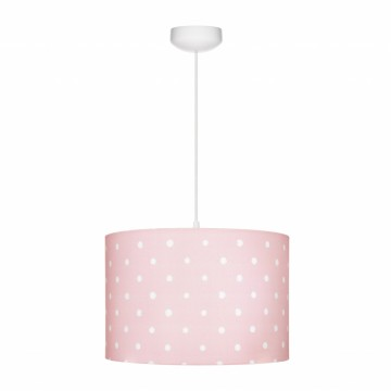 Lampa wisząca różowa w...