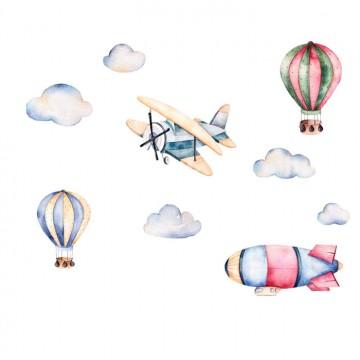 Naklejka Balony i Samoloty...