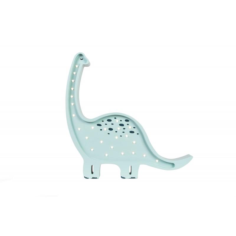 Lampa drewniana Dinozaur...
