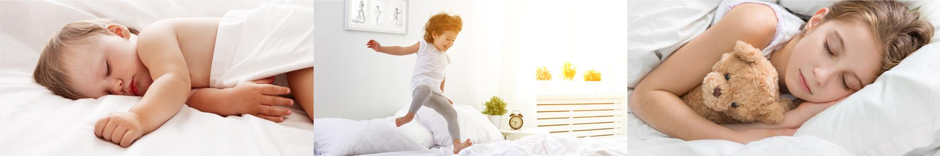 Materace dla dzieci | Kieszeniowe, lateksowe, piankowe