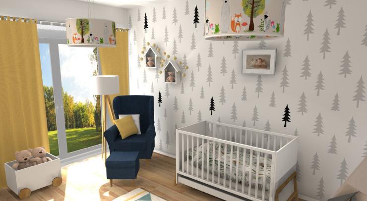 wizualizacja pokoju dziecka